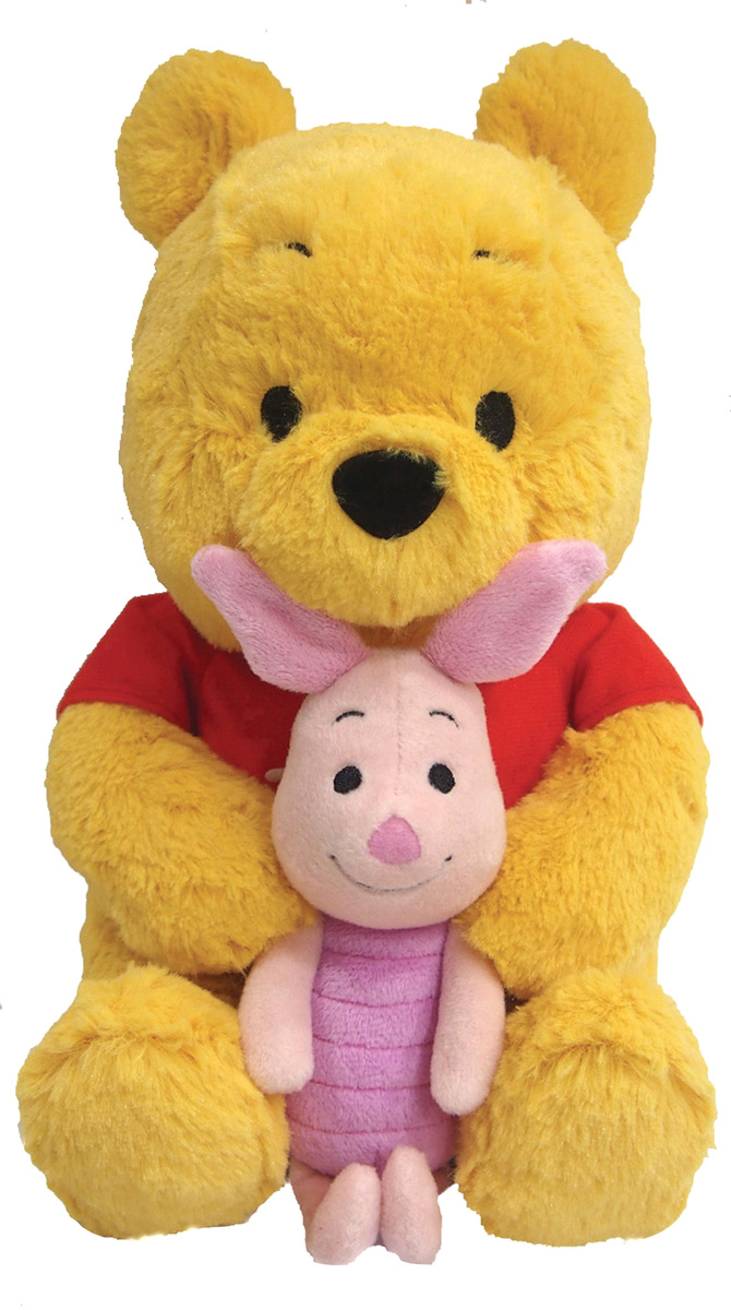 11Inch Winnie the Pooh and Piglet Plush Doll