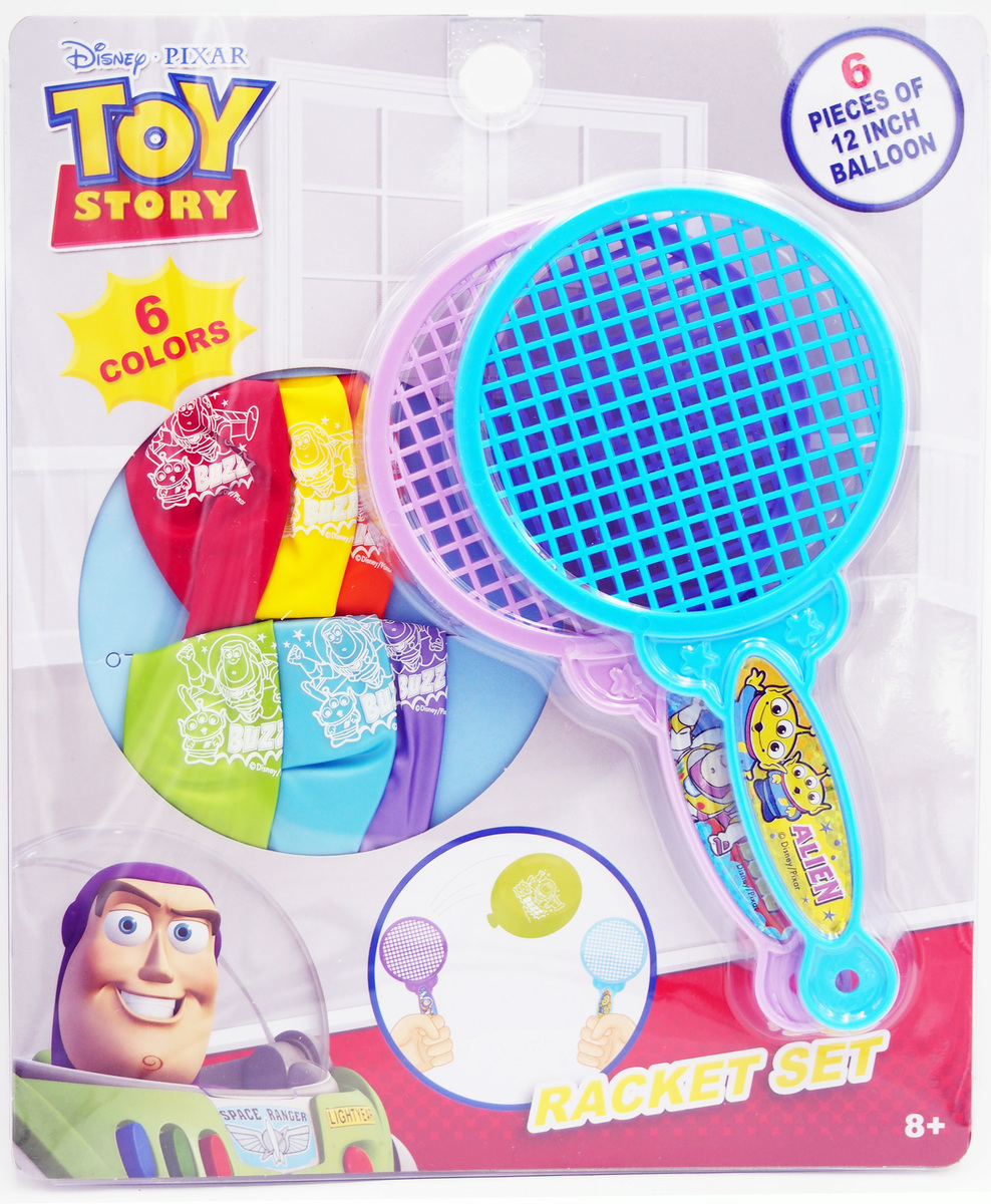 TOY STORY Racket with balloons game