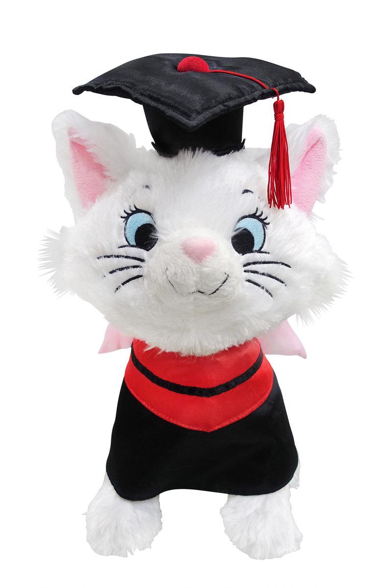 "13"" MARIE graduate plush doll"