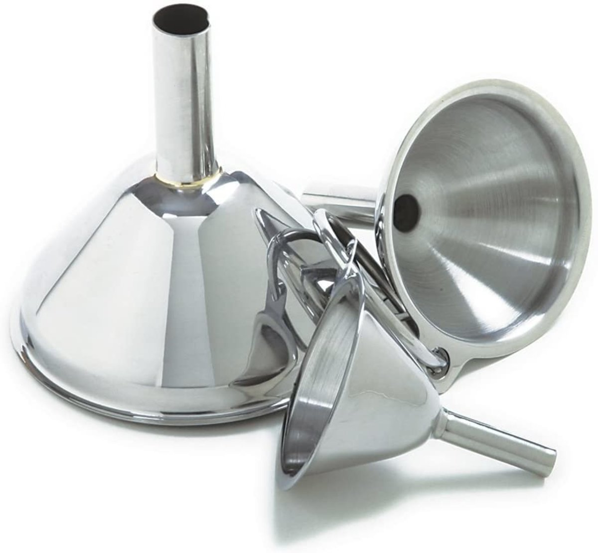 Bennlife Stainless Steel Funnel Sets (3 in1)