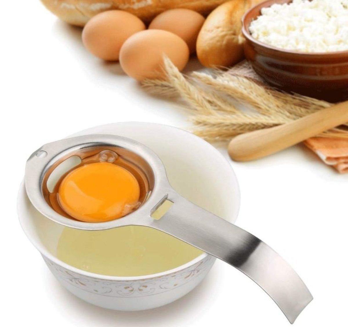 Bennlife Stainless Steel Egg Separator
