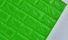3D Brick Wall Stickers (green)