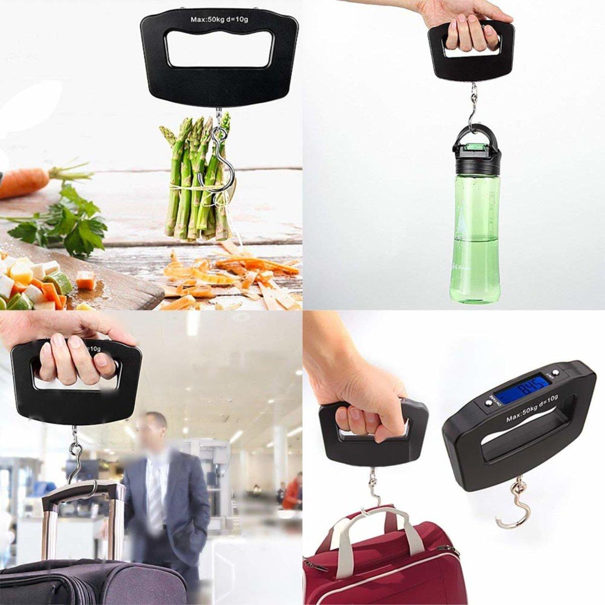 Portable Handheld Travel Luggage Electronic Scale,