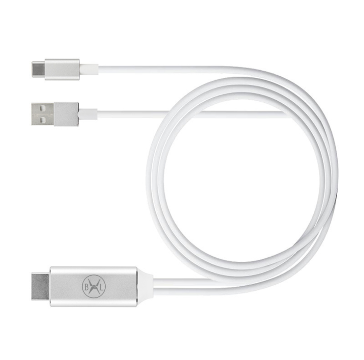 Bennlife USB Type-C to HDMI cable (white)