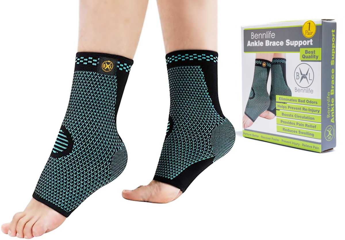 Bennlife breathable ankle elastic and comfortable (one pair,size: S)