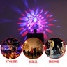 Portable USB Sound Activated Party Lights with Remote Control Dj Lighting, RBG Disco Ball Light(USB)