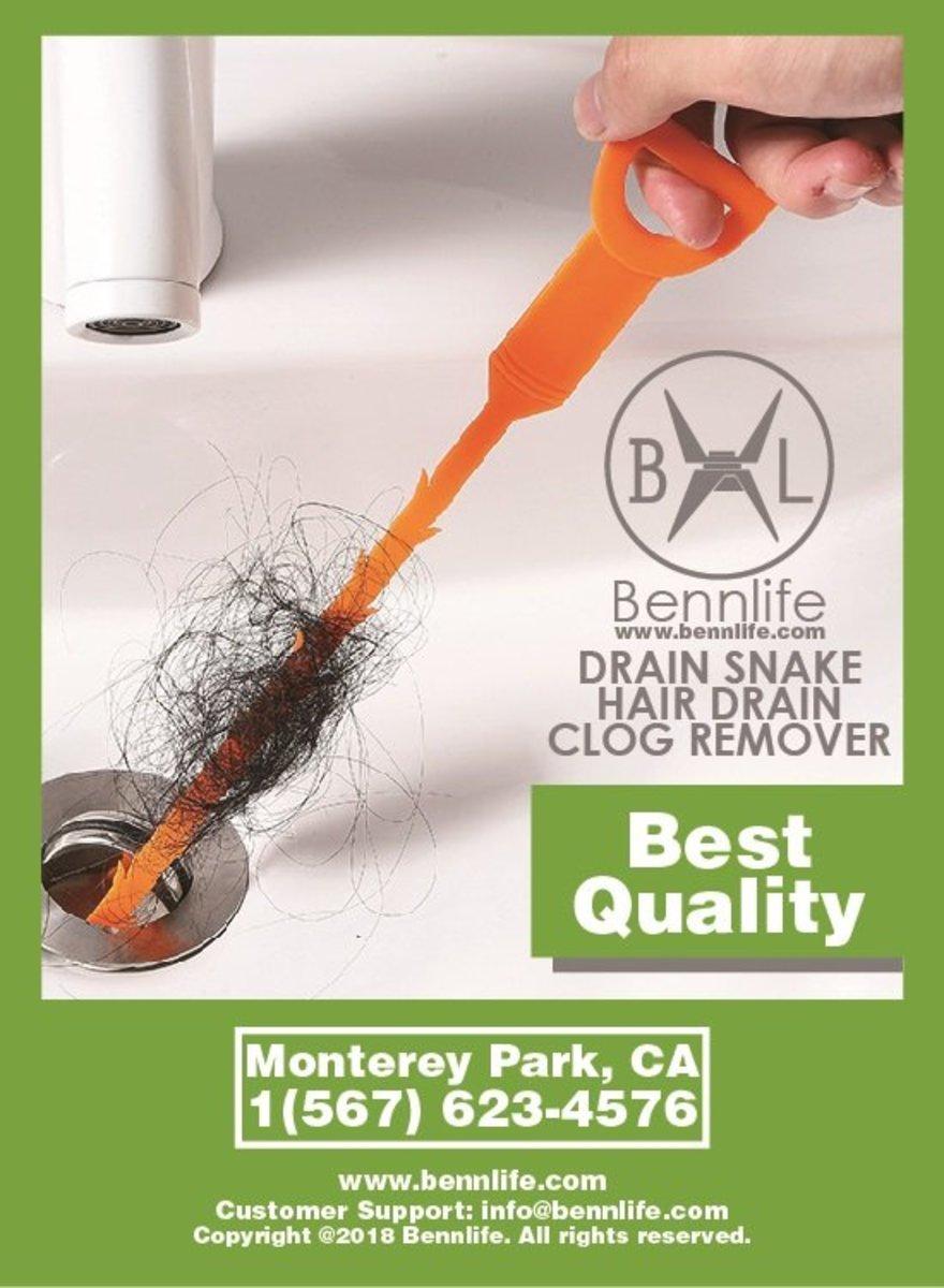 Drain Snake Hair Drain Clog Remover