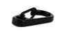 Mini Spring Hang Buckle Outdoor Portable Gadget Key Ring (black)