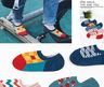 Chinese New Year creative style socks for men and women (different patterns, 5 pair)