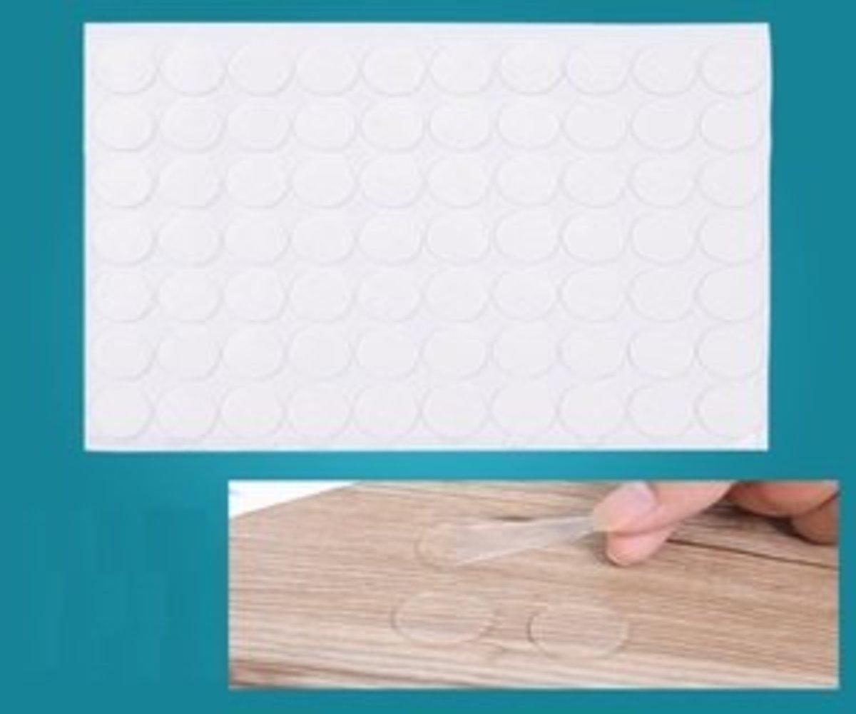 70 Pieces round transparent adhesive