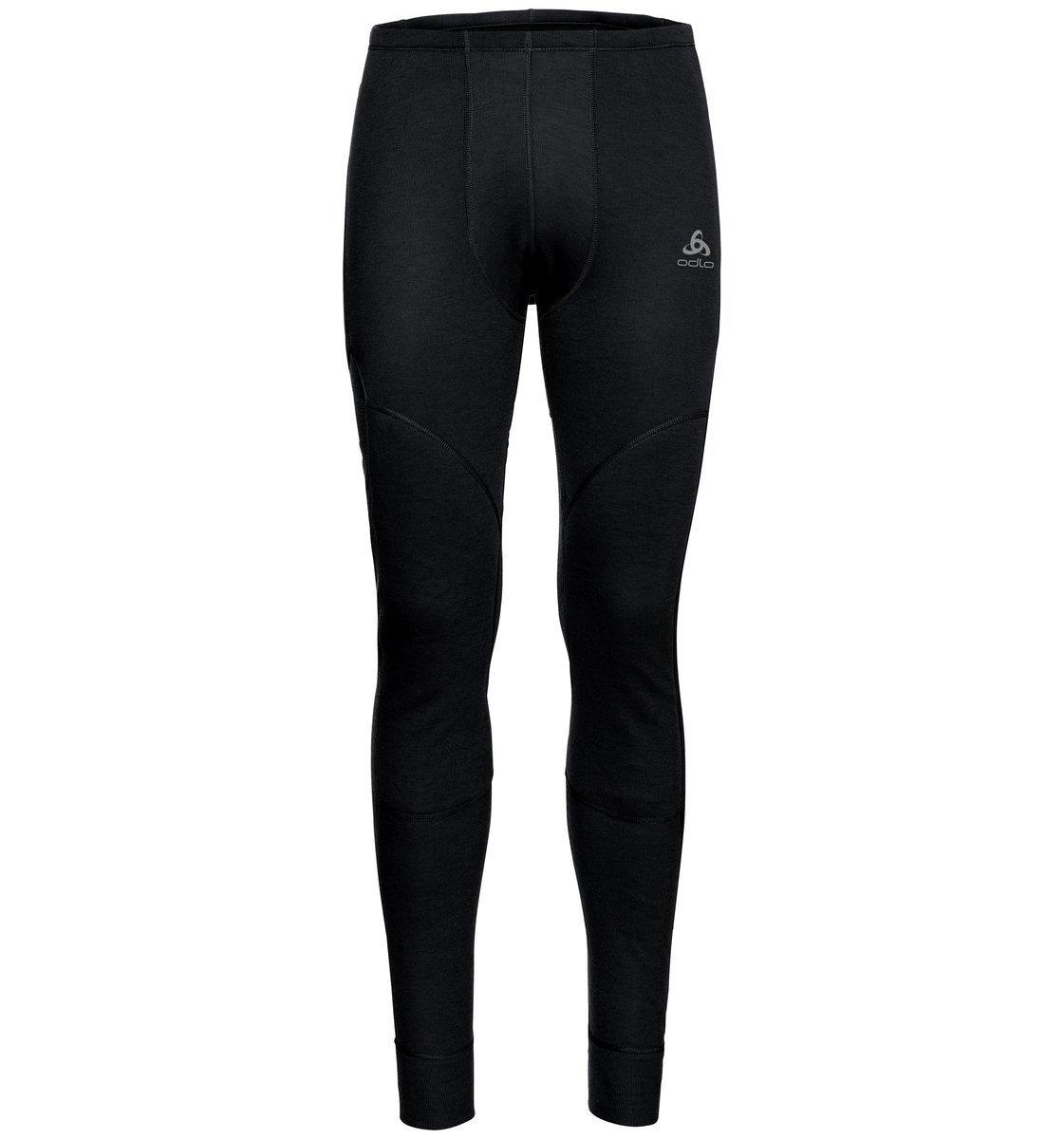 保暖內著/男裝Active X-Warm加厚保暖長褲-黑色
