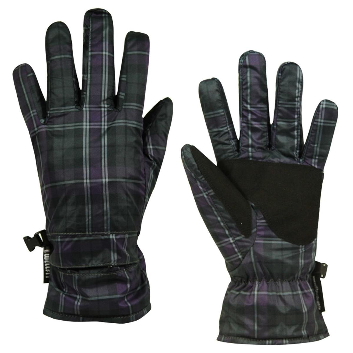 Well Fit Gloves- Purple+Black
