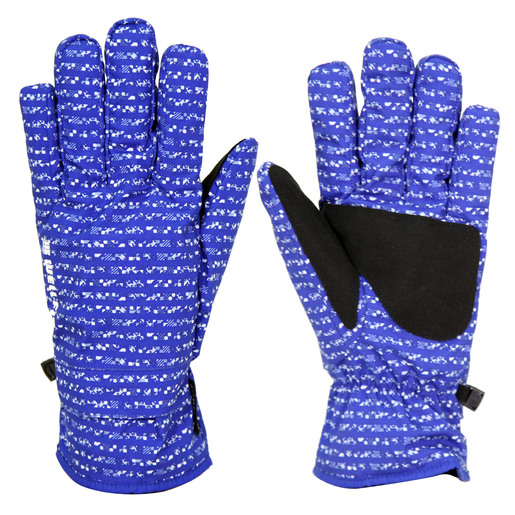 Well Fit Gloves- Blue +White