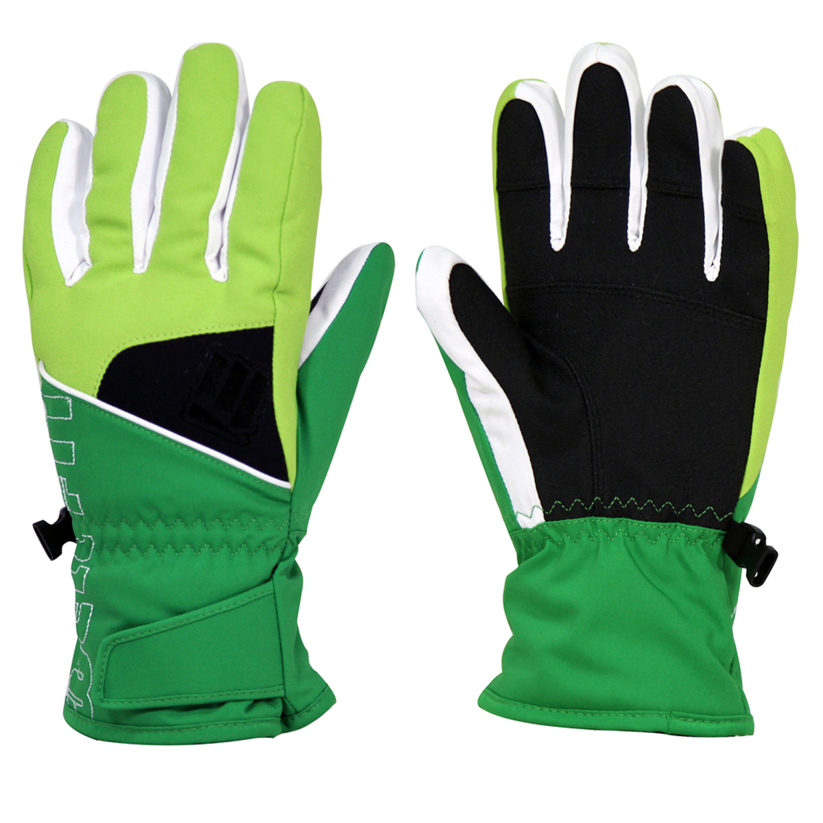 Well Fit Kids Gloves -Green