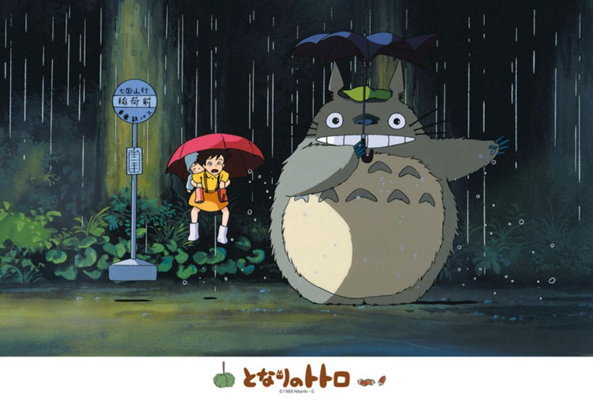 [日本正貨] 下雨中的龍貓300片拼圖