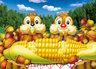 [日本正貨] 迪士尼大鼻鋼牙快樂的午餐108片拼圖
