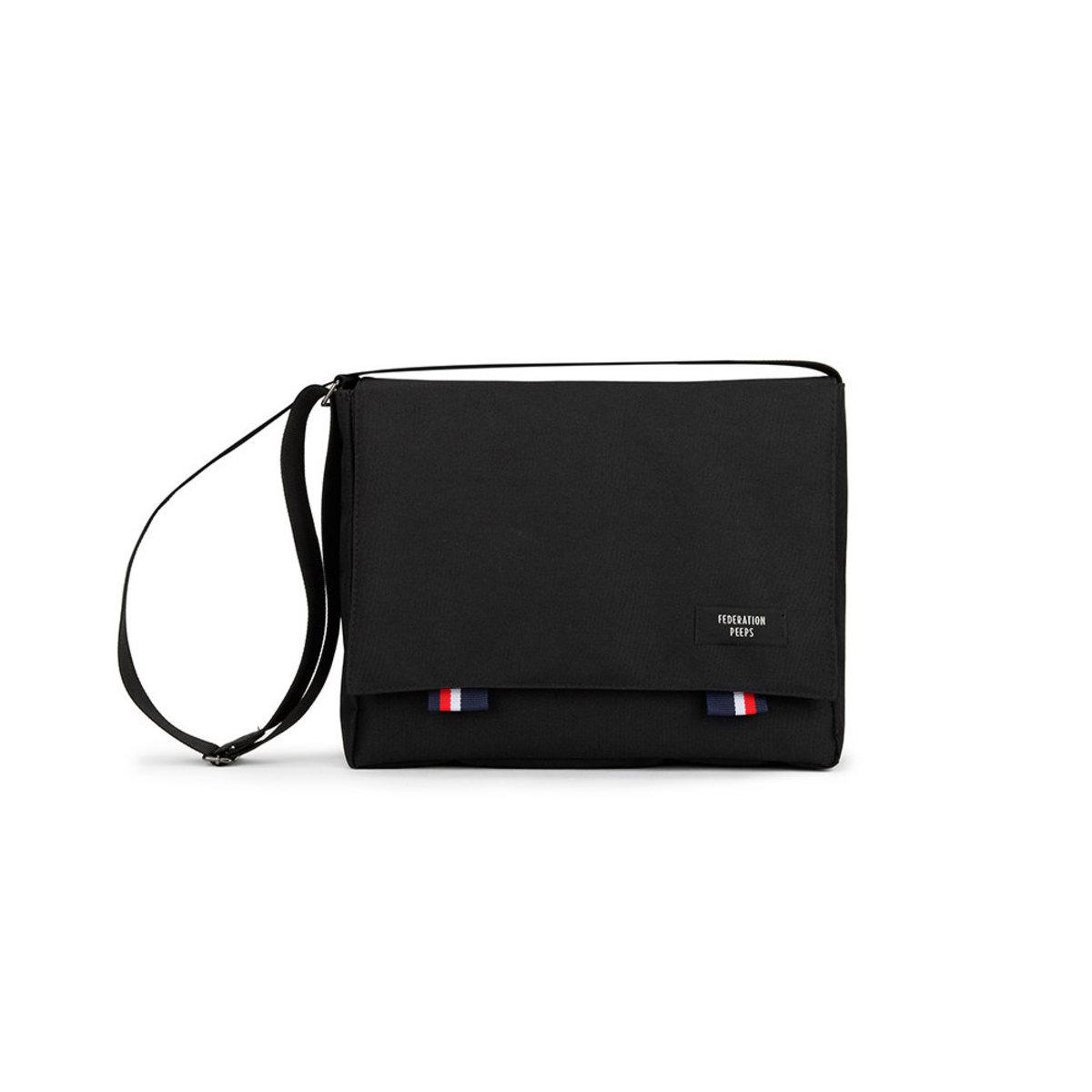 Peeps - Bridge Messenger Bag (Black)