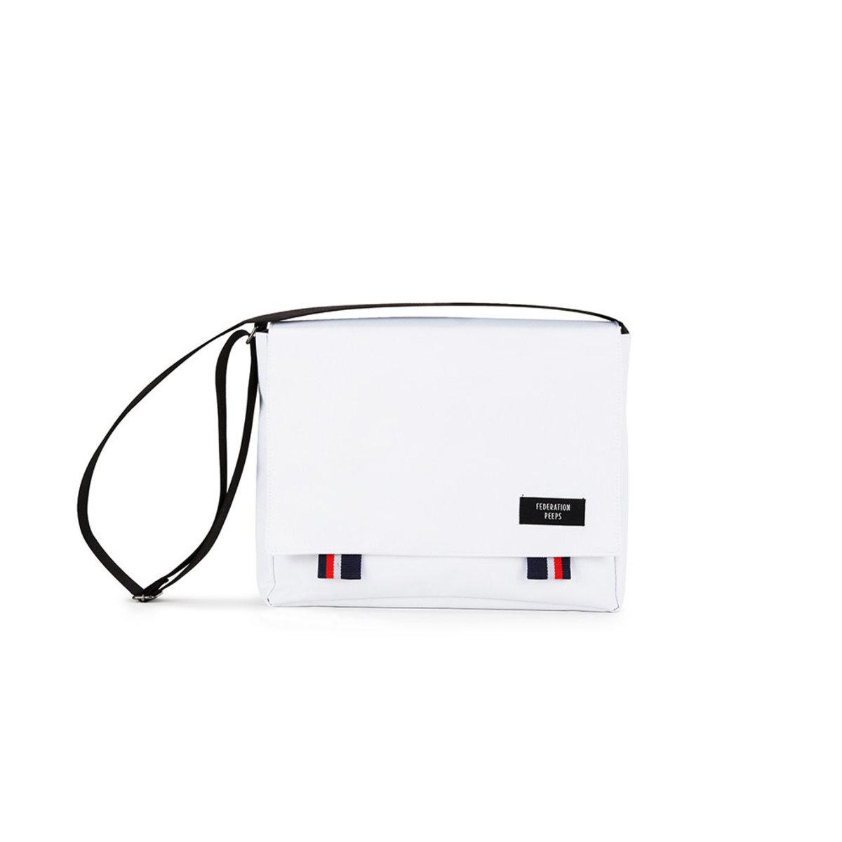 Peeps - Bridge Messenger Bag (White)