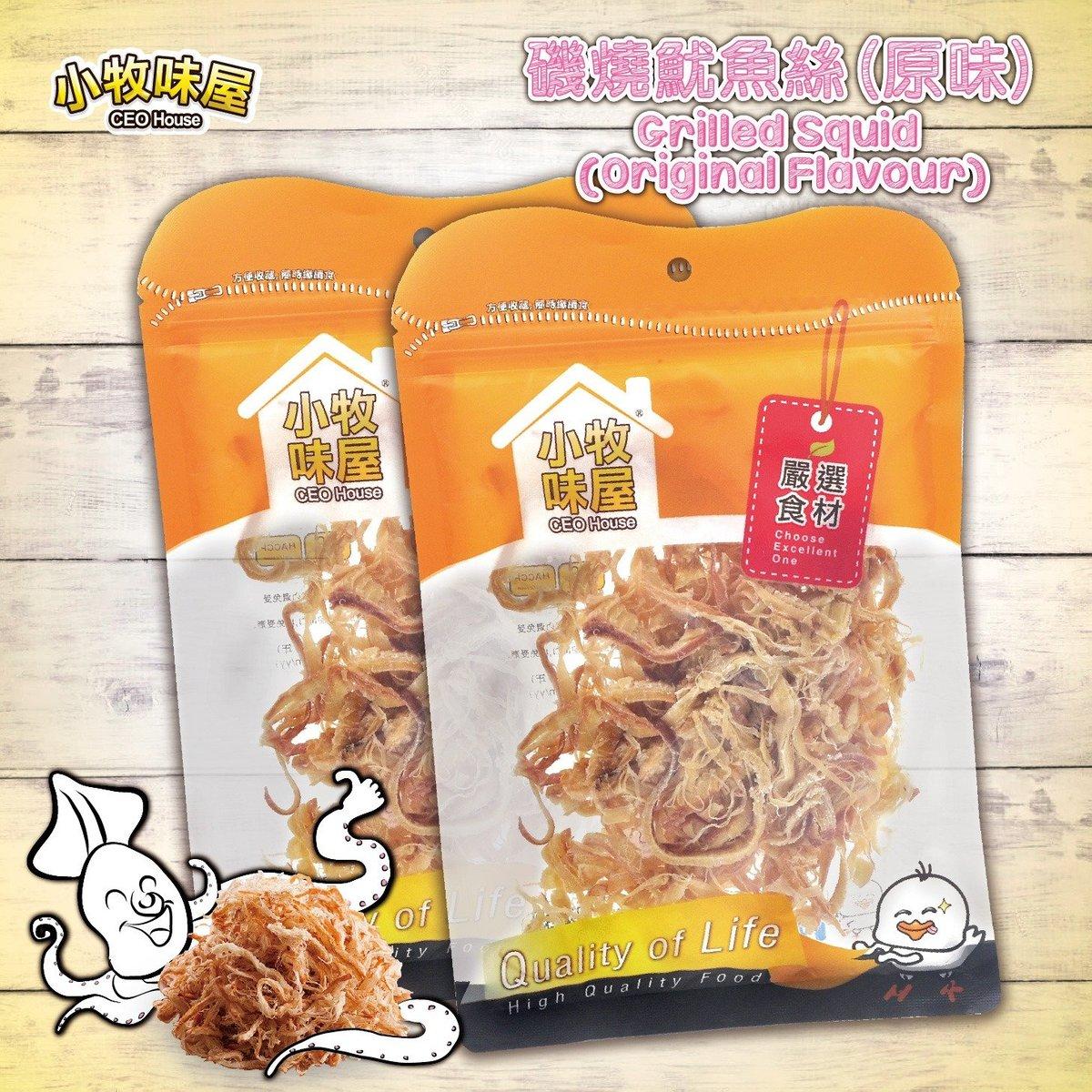 磯燒魷魚絲(原味)
