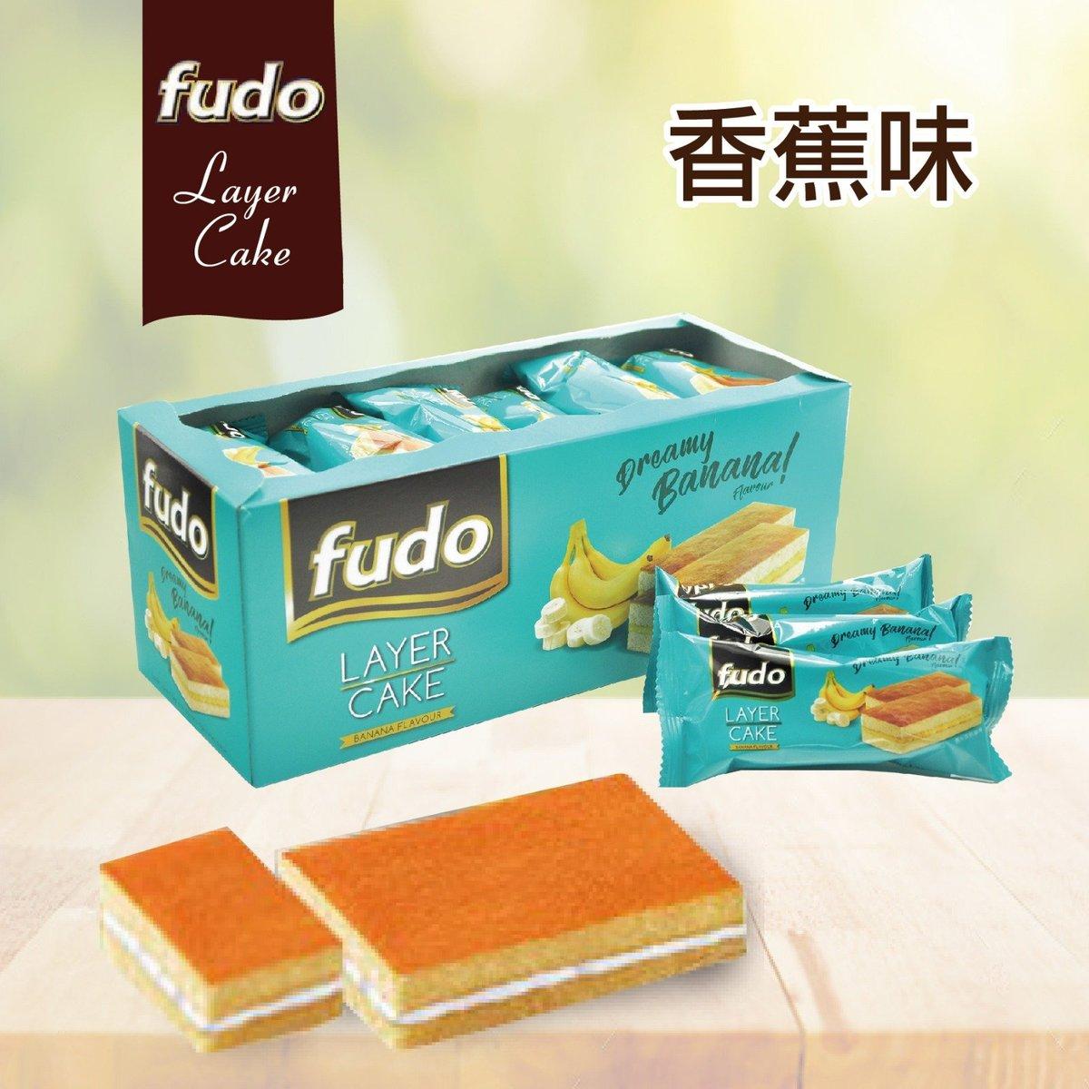 Fudo 香蕉味蛋糕 (24條)