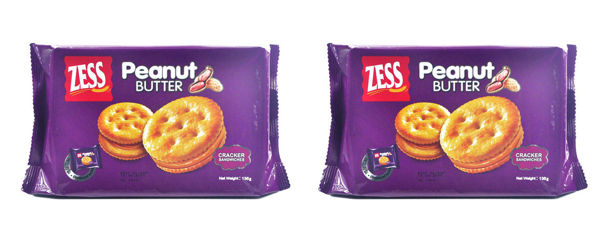 Zess Cracker Sandwiches Peanut Flv x 2