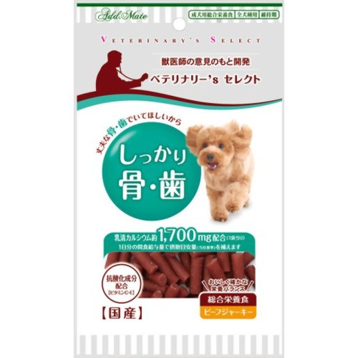 ADDMATE Healthy bones and teeth chicken strips 100g (12074) (Import from Japan)