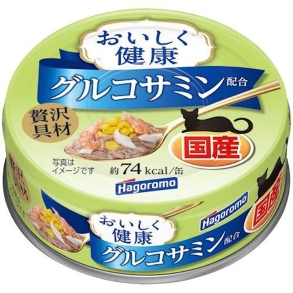 HAGOROMO 日本吞拿魚鰹魚雞蛋鯛魚扇貝 - 關節健康配方 70g (60650)(日本平行進口)