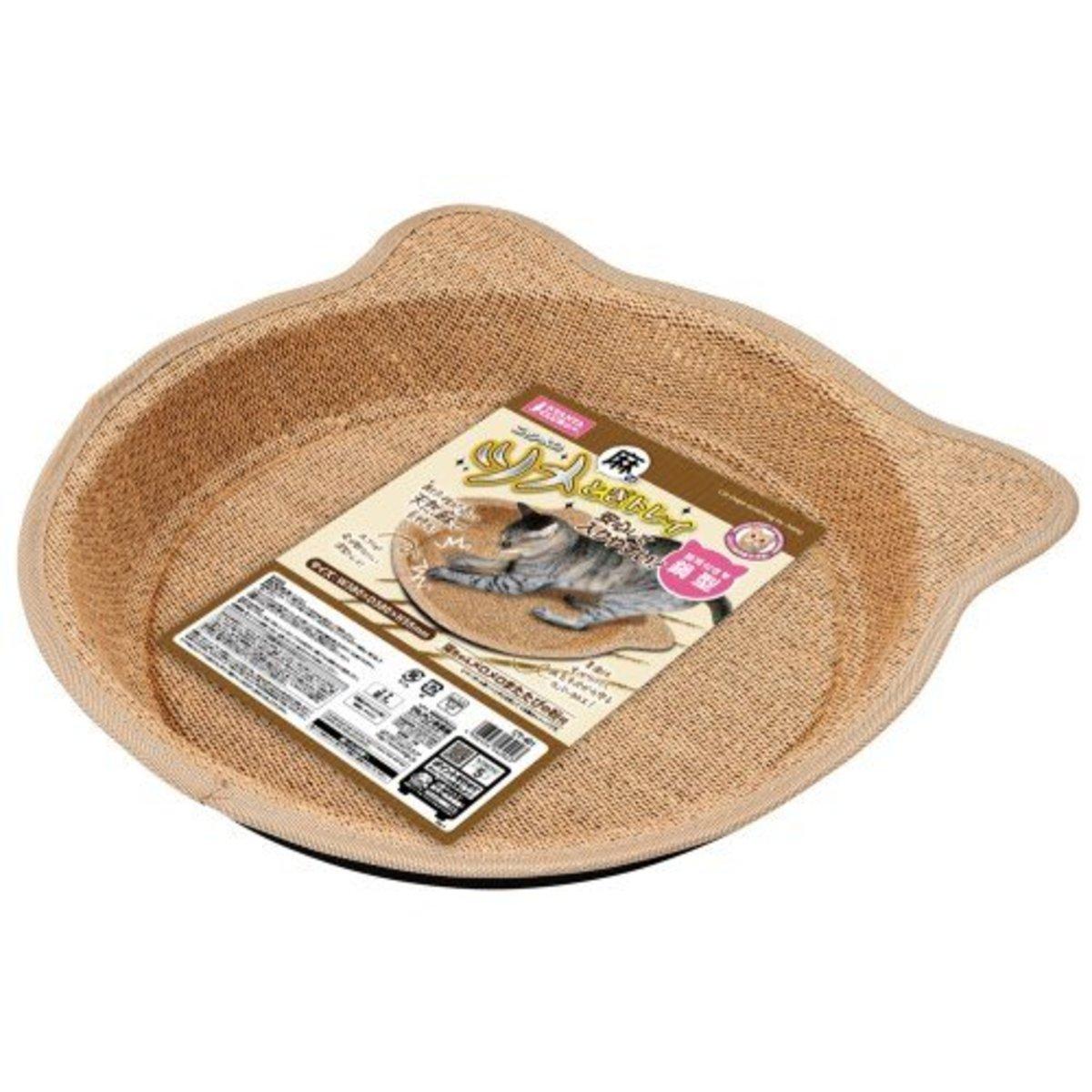貓抓鍋型碟形盤 - 麻面 (56202) (日本進口)