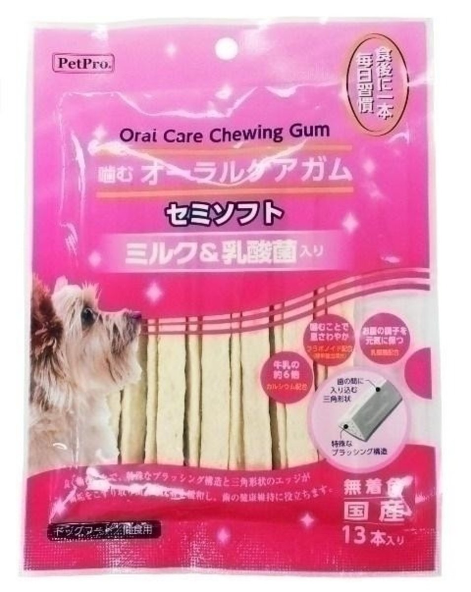 PetPro Milk & Lactobacillus Triangle Sticks (13554) (Import from Japan)