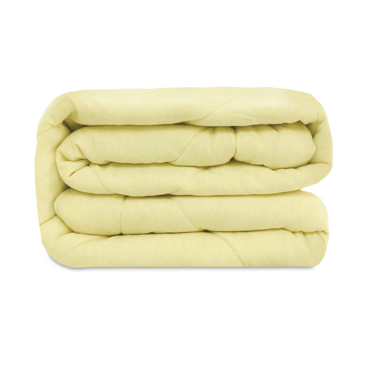 Four seasons essential - Double side imitation silk cotton quilt - Yellow - BB