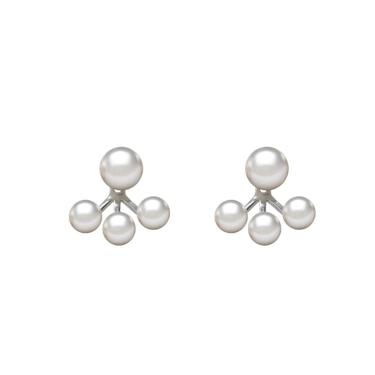 淡水珍珠配 925純銀耳環