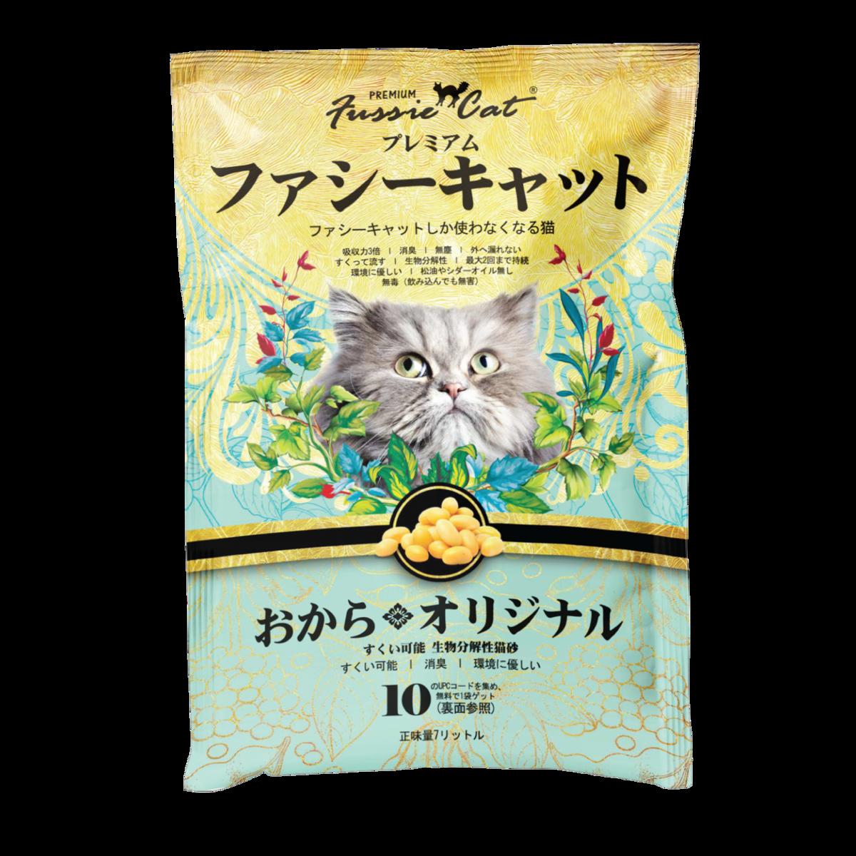 Fussie Cat Soybean Litter (Japanese) 7L裝X 6 Bags