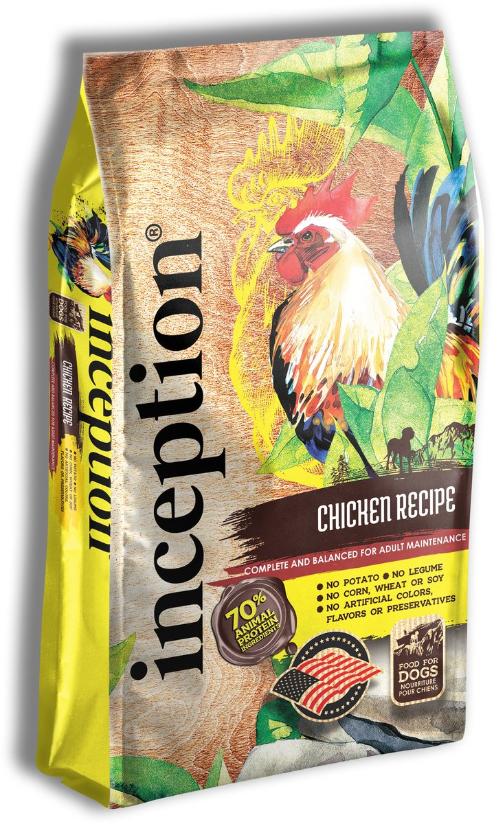 Inception Dog Food Chicken Recipe 27 LB