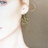COLE COOL 珊瑚珍珠14kgf耳環