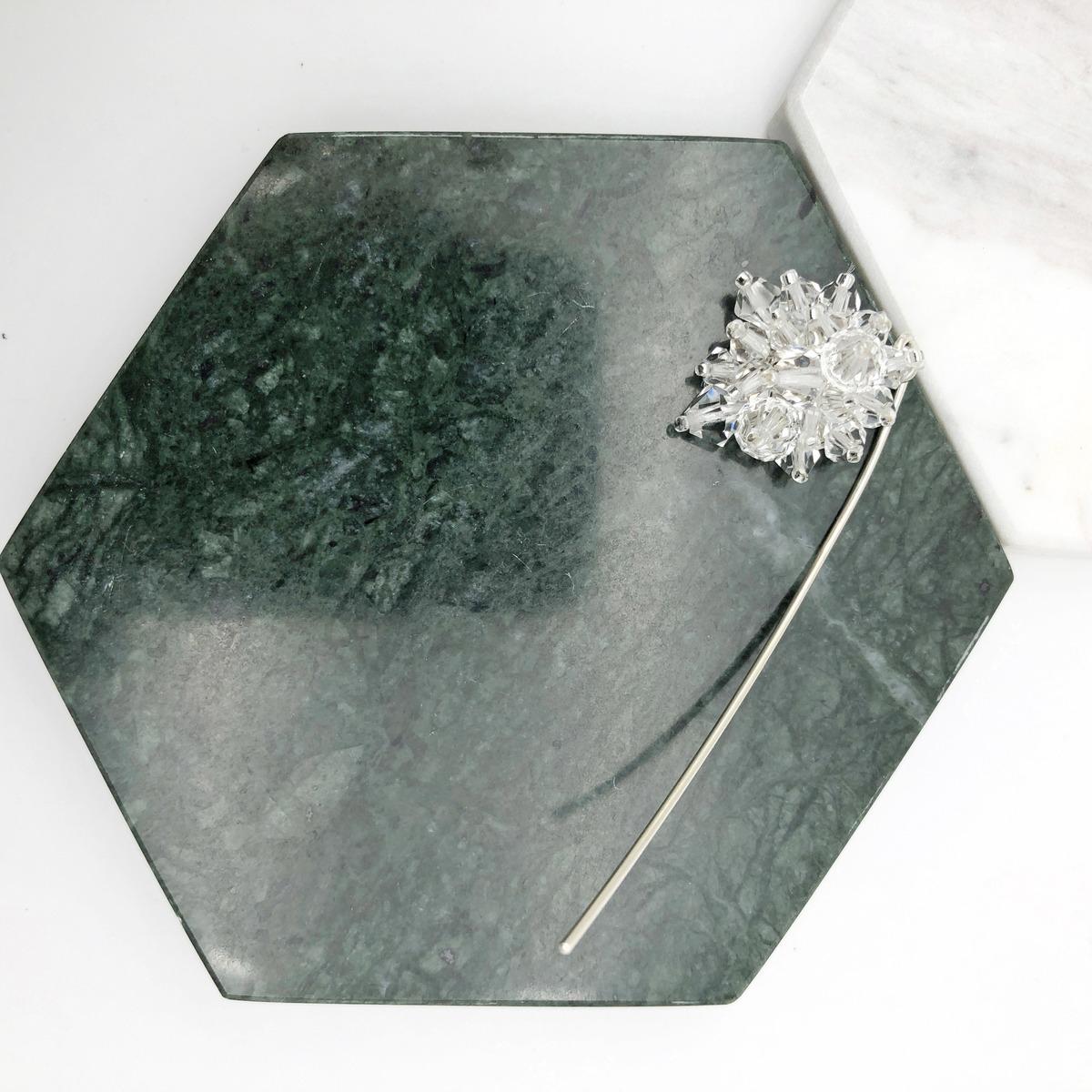 Swarovski Crystals 925 Silver Earrings【Crystal Earrings】【wedding】【Birthday Gift】