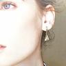 迷你珍珠耳環SET  【3對1SET】【聖誕節禮物】【浪漫&有型的聖誕節】