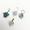 Swarovski Crystal 14kgf Earrings SET【Christmas Earring】【4 Pairs】