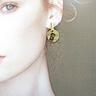 COLE COOL 和風天然石925純銀耳環