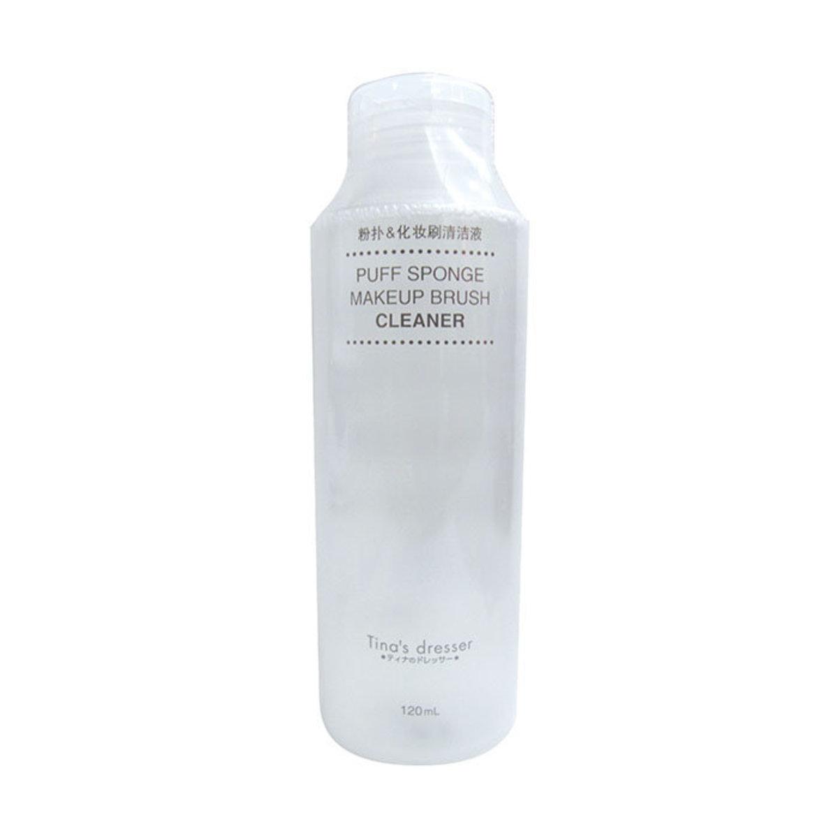 粉撲及化妝掃品清潔液 (容量:120毫升) TN18902