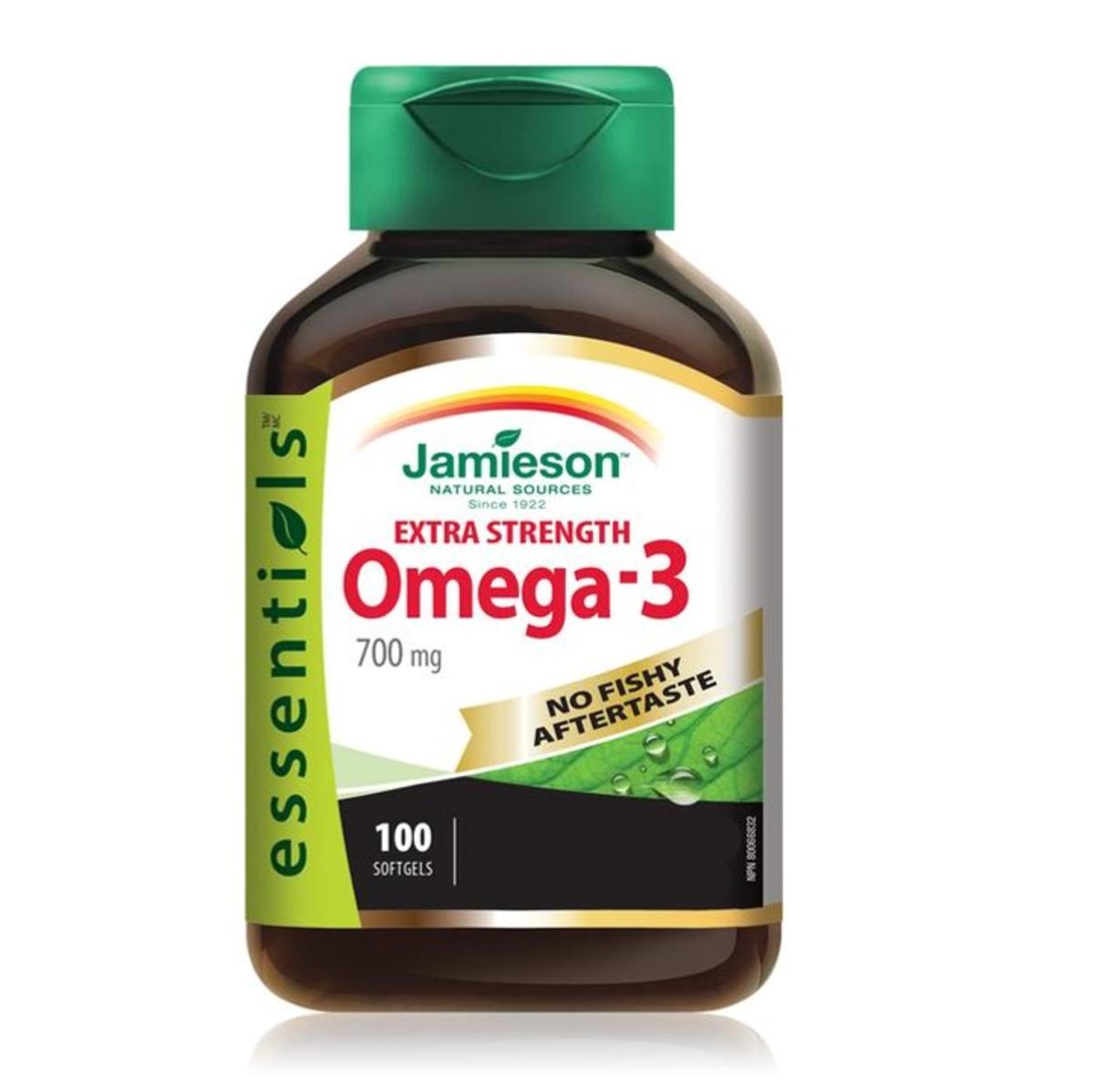 特強 奧米加‐3 (EPA/DHA 700 毫克)  100 粒裝