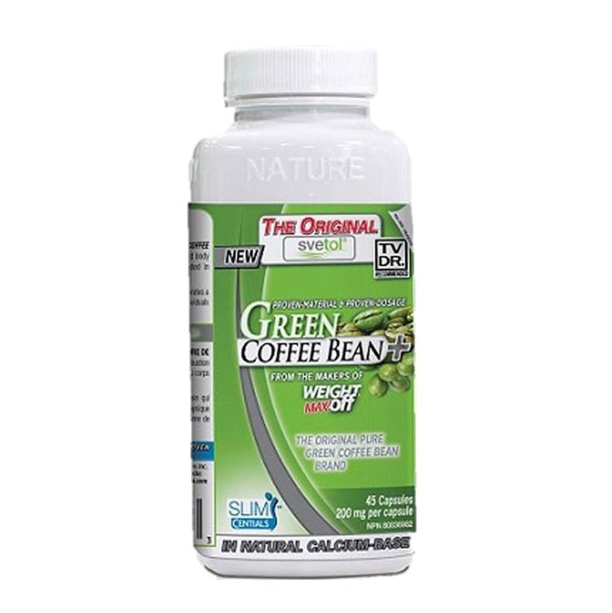 SVETOL 100% Green Coffee Bean 45 capsules
