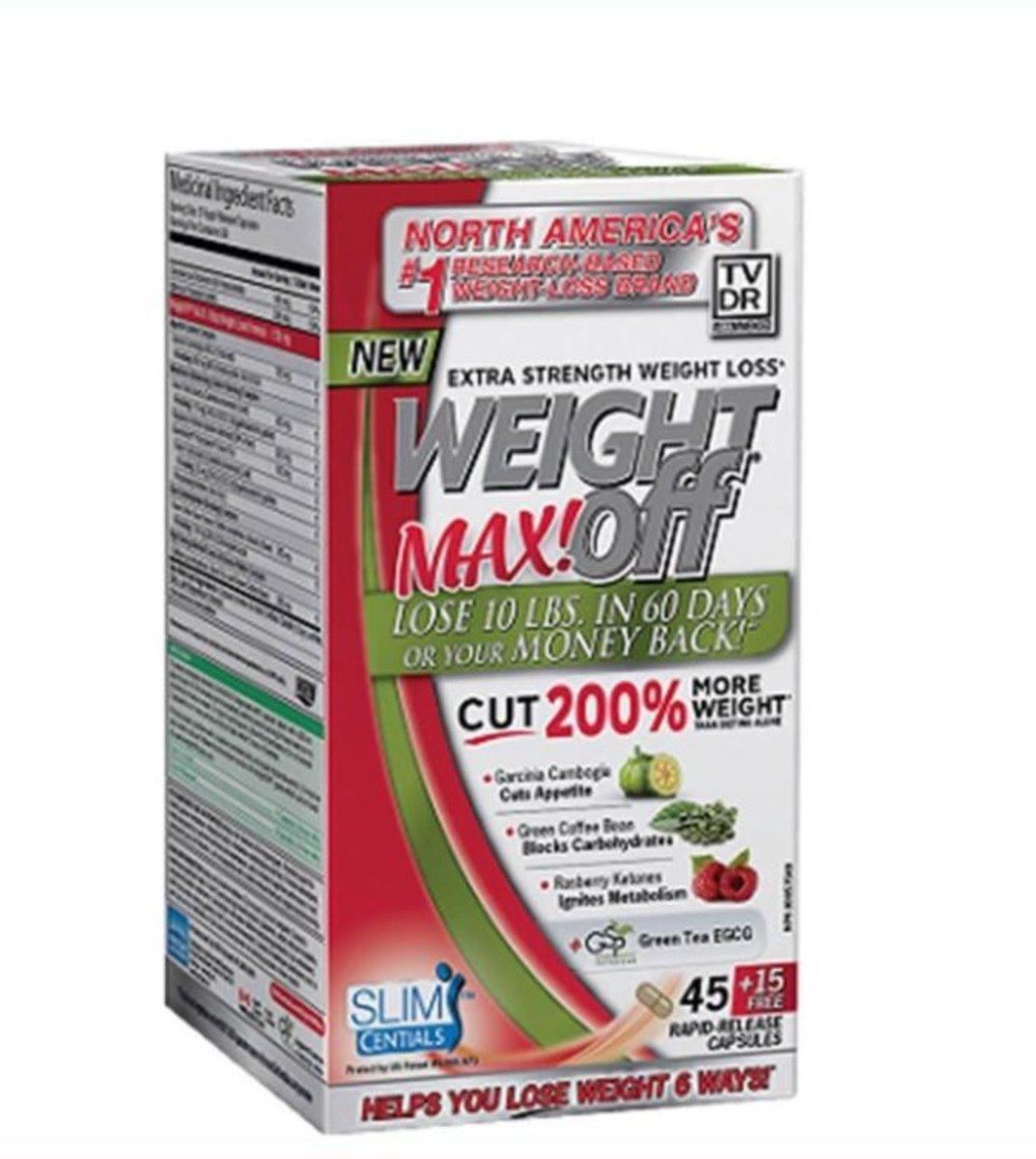 WeightOFF MAX! Supplement 60 capsules
