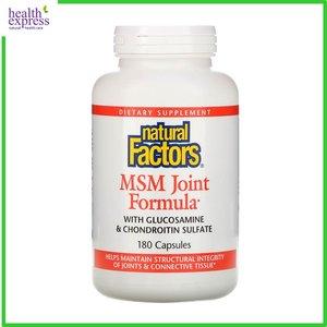 Natural Factors 關節健骨寶 3 合 1 (MSM 關節配方) 加量裝 180 粒
