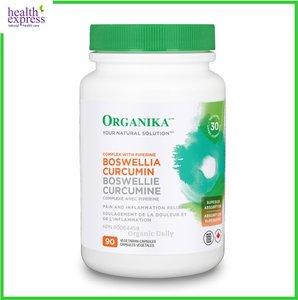 ORGANIKA 健骨護體乳香薑黃素複合配方 90 粒素膠囊