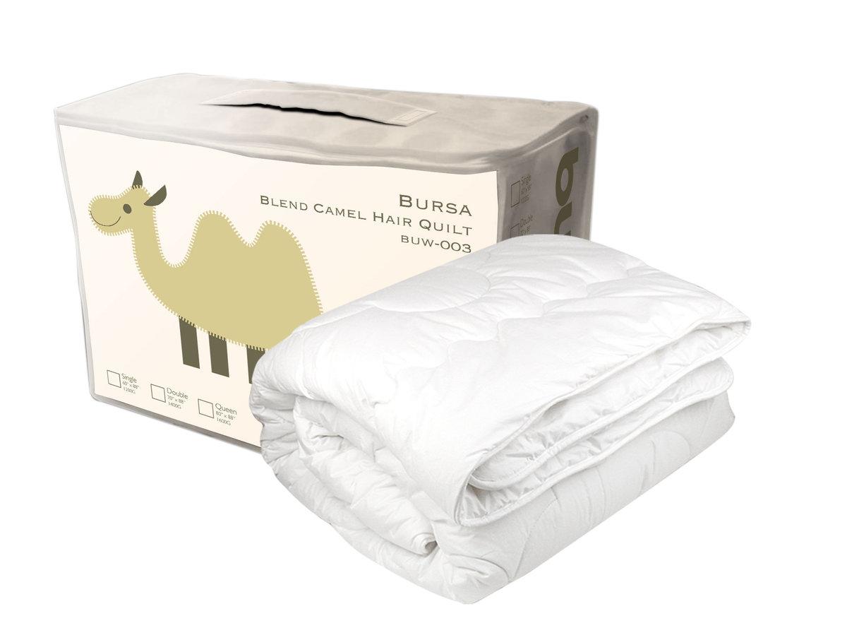 Bursa Blend Camel Hair Quilt (Single)