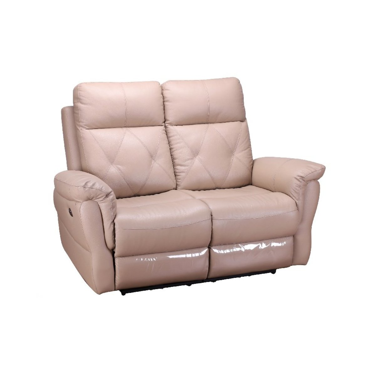 2 seater sofa with double electric incliners mechanism