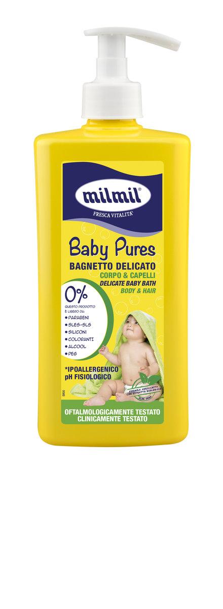 意大利-寶寶輕柔洗髮沐浴露