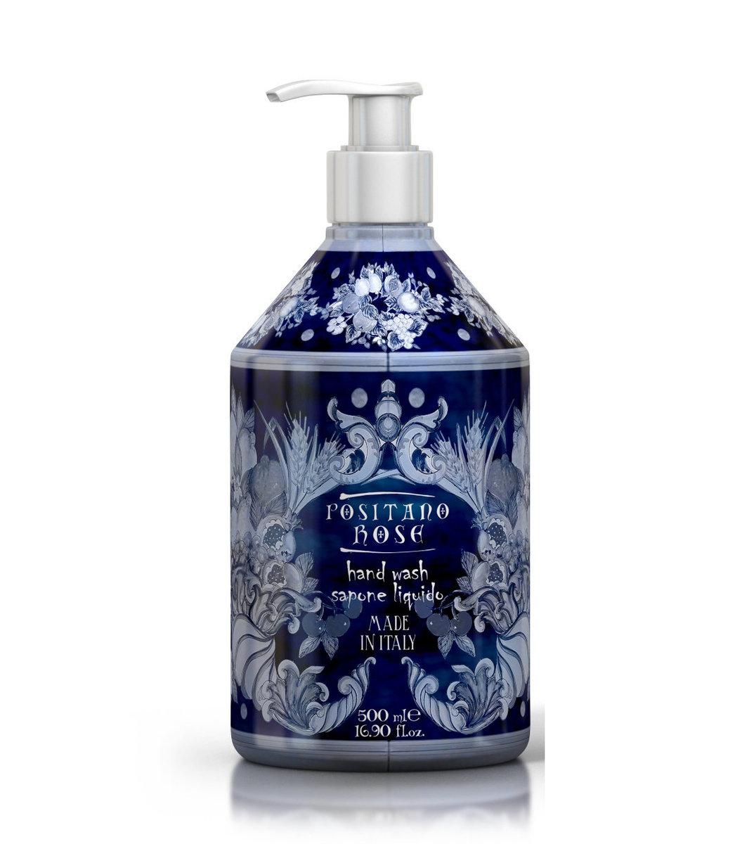 Positano Rose Luxury Hand Cream Soap