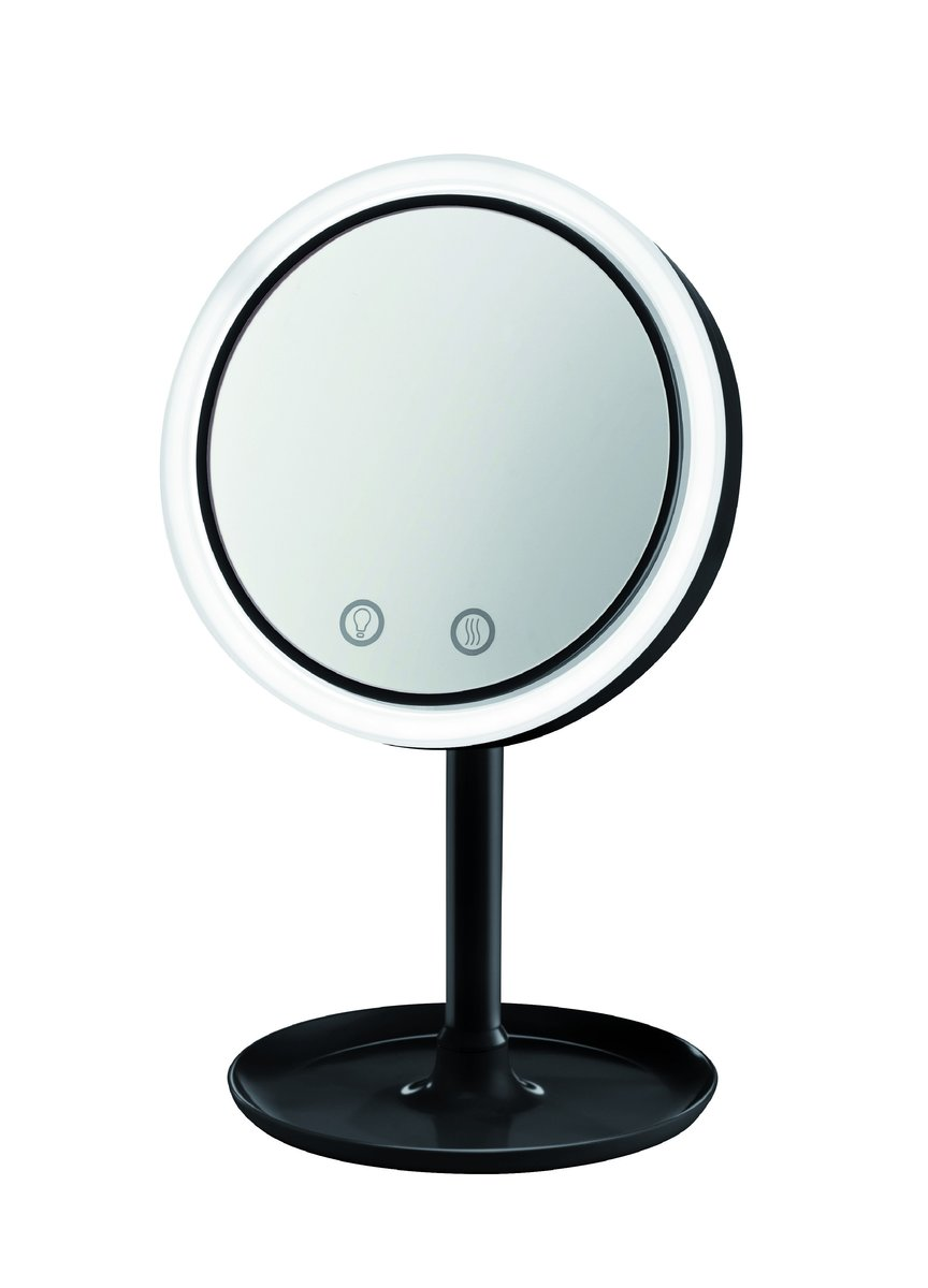 Cosmetic mirror with LED light and air diffuser 16.5cm