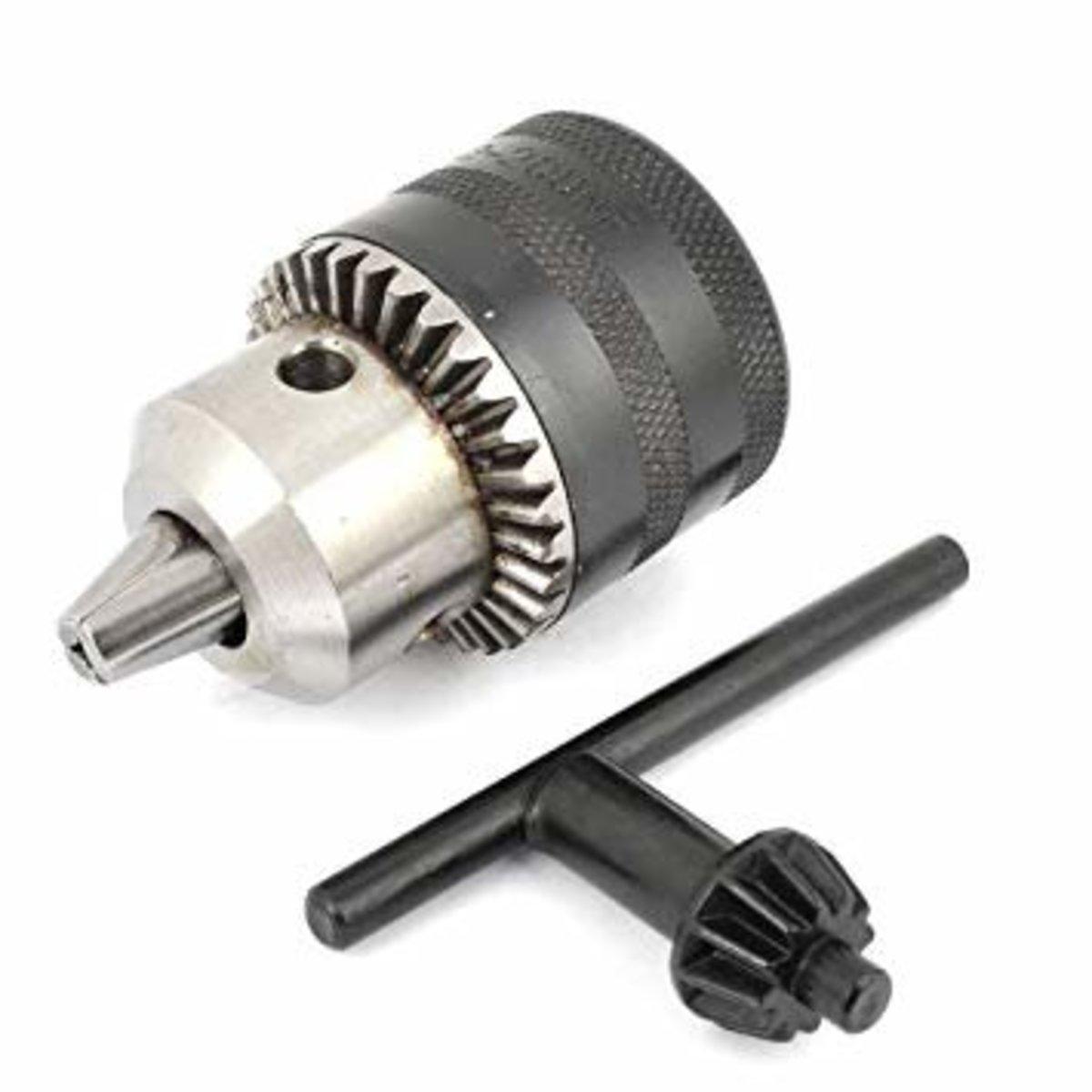 """TOLSEN 79161# Key Chunk - 1/2""""/ 1.5-13mm (Dealer Goods)"""
